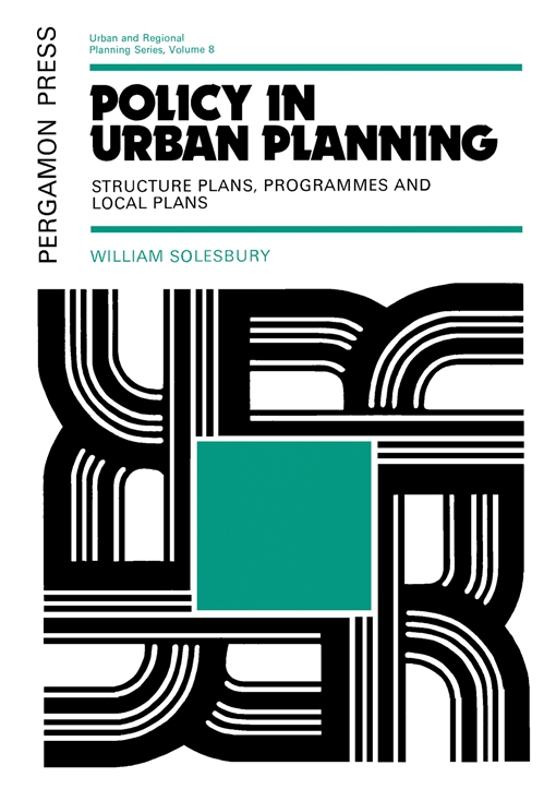 Policy in Urban Planning