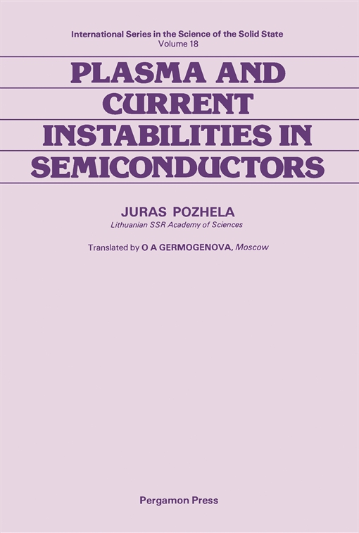 Plasma and Current Instabilities in Semiconductors