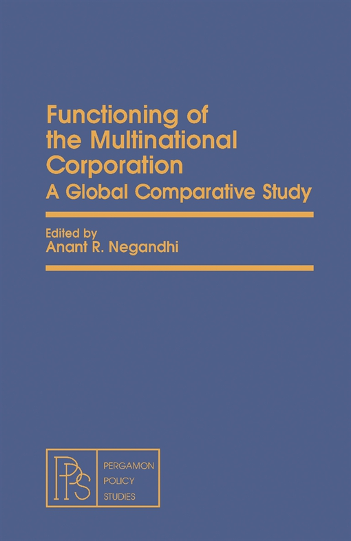 Functioning of the Multinational Corporation