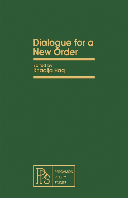 Dialogue for a New Order
