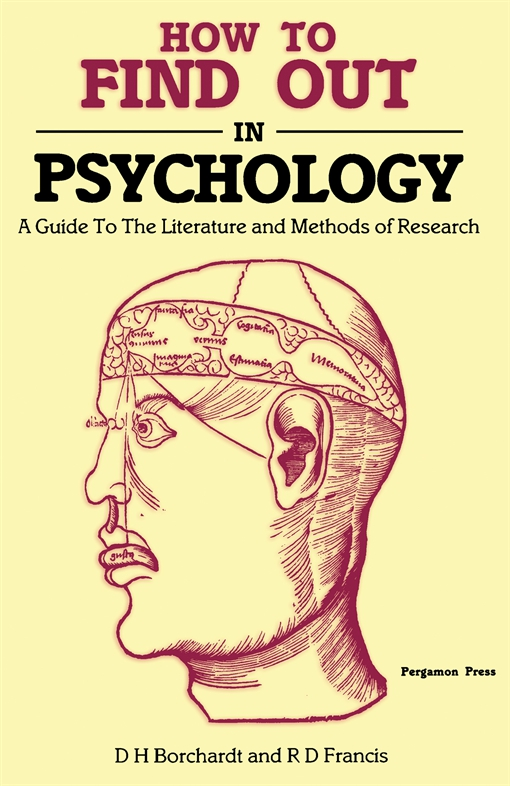 How to Find Out in Psychology