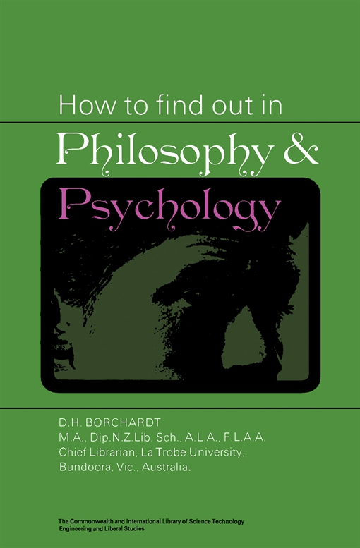 How to Find Out in Philosophy and Psychology