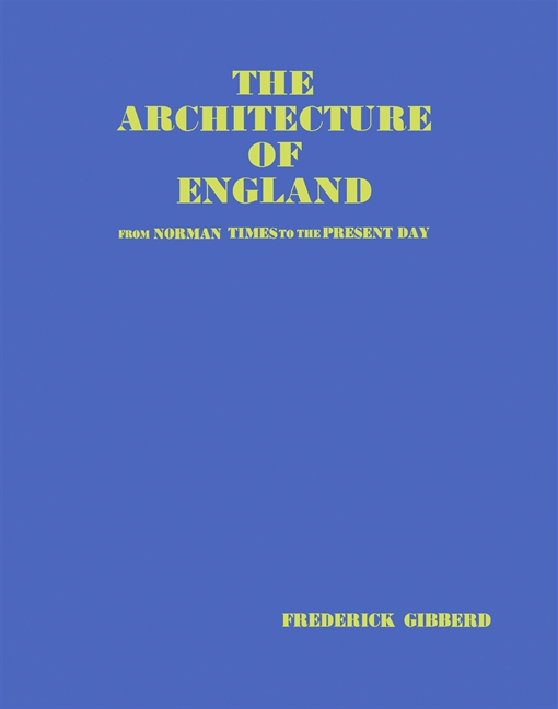 The Architecture of England