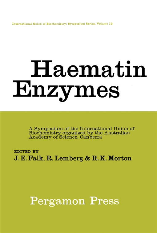Haematin Enzymes