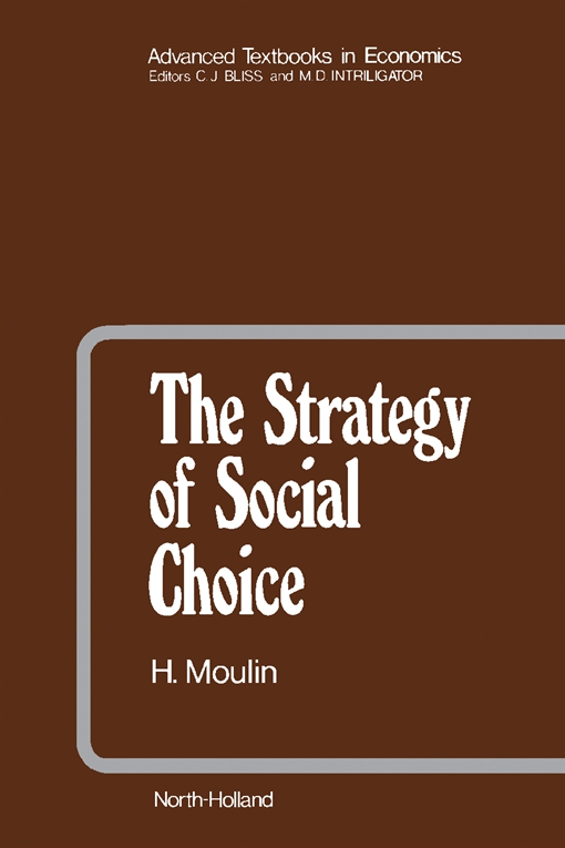 The Strategy of Social Choice
