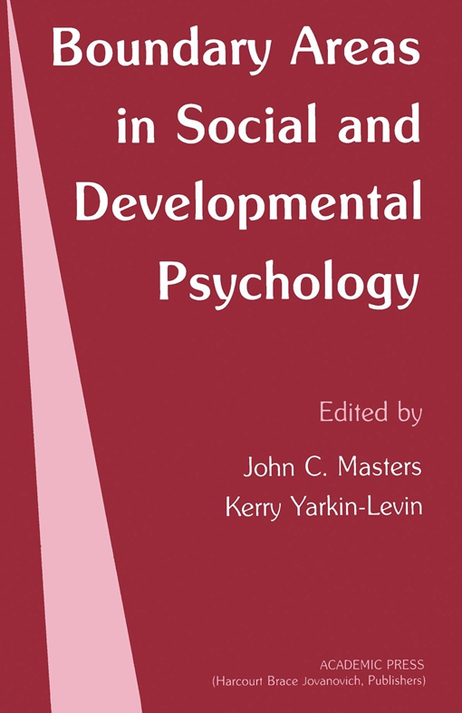 Boundary Areas in Social and Developmental Psychology