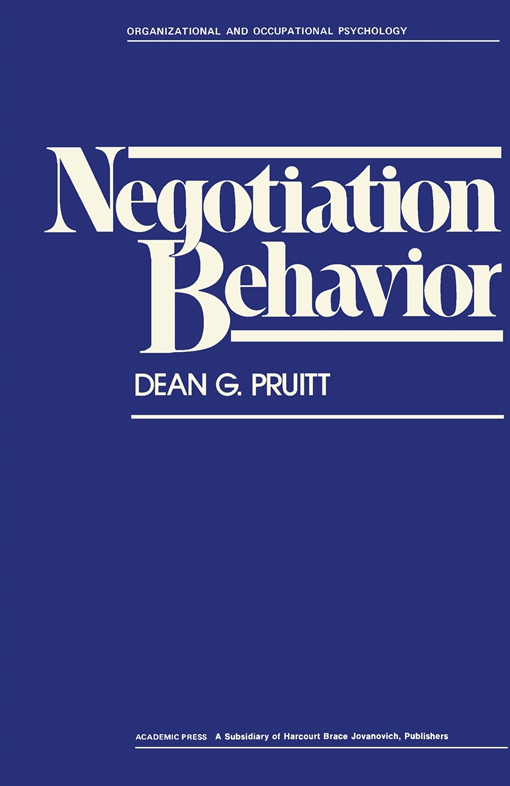 Negotiation Behavior
