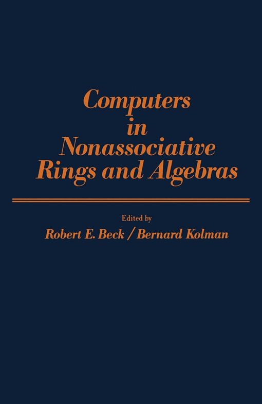 Computers in Nonassociative Rings and Algebras