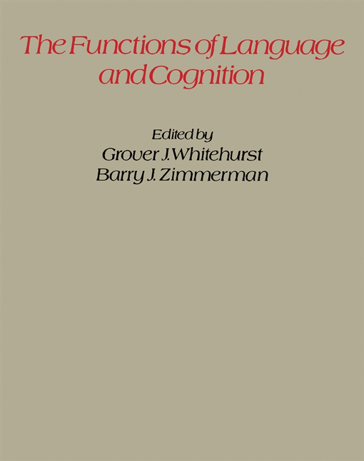 The Functions of Language and Cognition