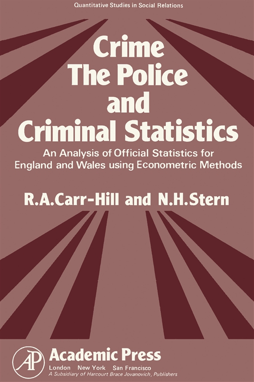 Crime, the Police and Criminal Statistics