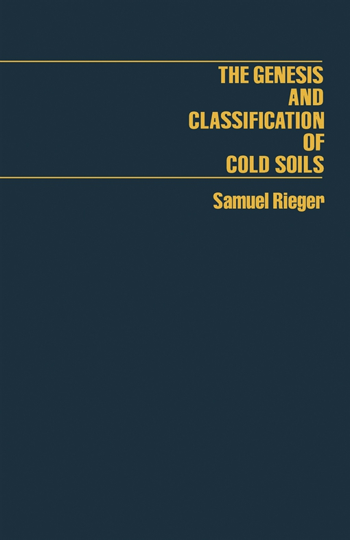 The Genesis and Classification of Cold Soils