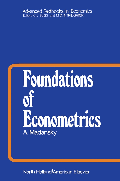 Foundations of Econometrics