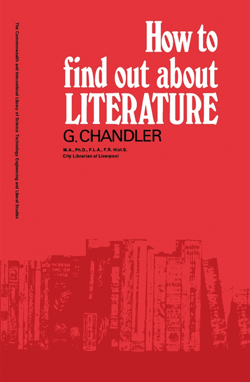 How to Find Out About Literature