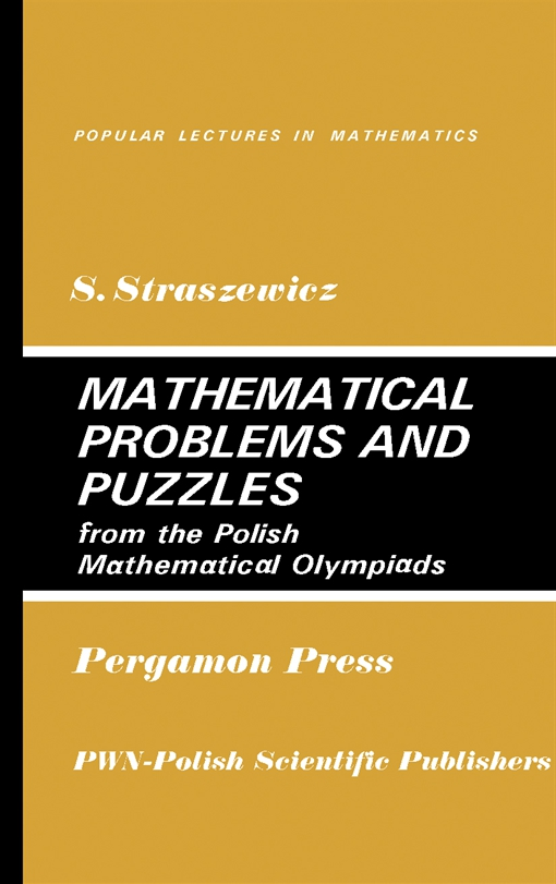 Mathematical Problems and Puzzles