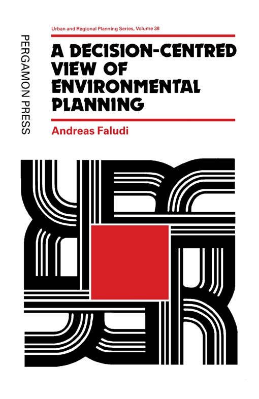 A Decision-centred View of Environmental Planning