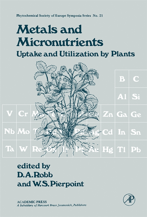 Metals and Micronutrients