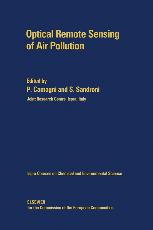 Optical Remote Sensing of Air Pollution