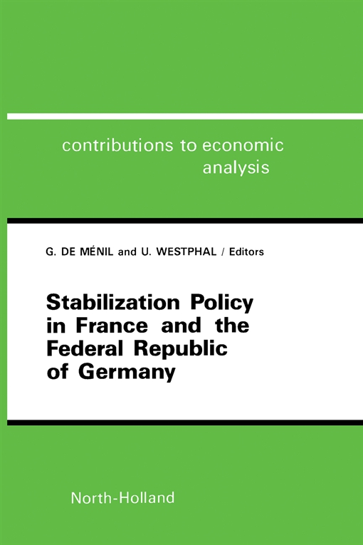 Stabilization Policy in France and the Federal Republic of Germany