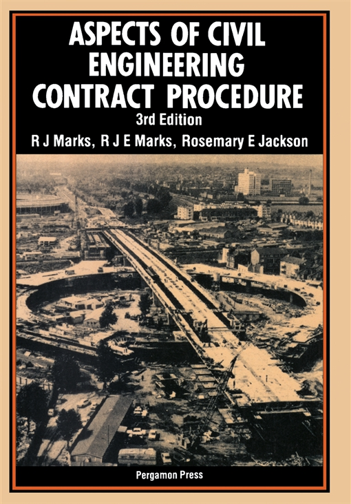 Aspects of Civil Engineering Contract Procedure