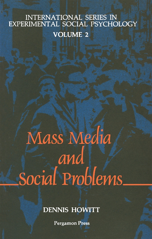 The Mass Media & Social Problems