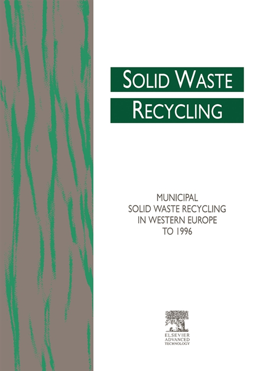 Municipal Solid Waste Recycling in Western Europe to 1996