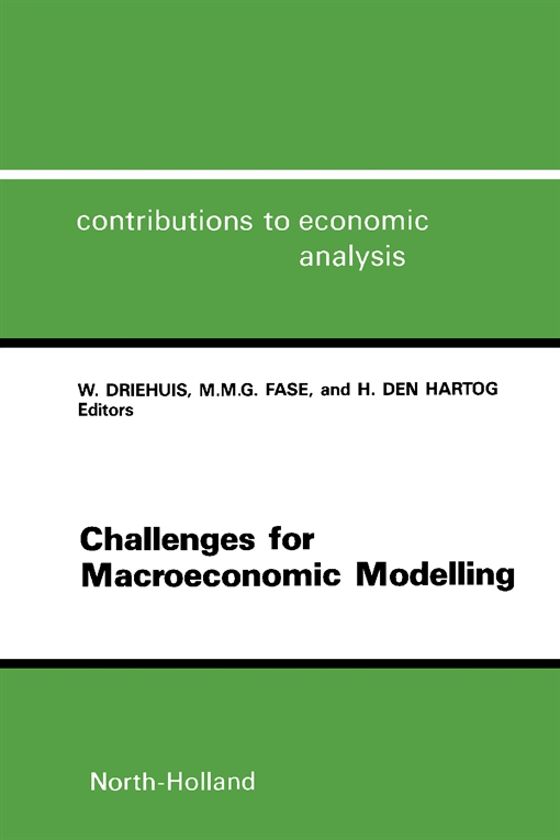 Challenges for Macroeconomic Modelling