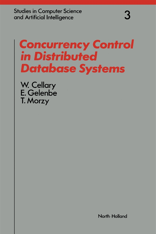 Concurrency Control in Distributed Database Systems