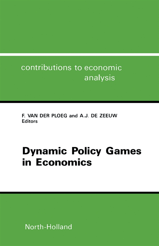 Dynamic Policy Games in Economics