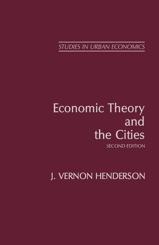 Economic Theory and the Cities