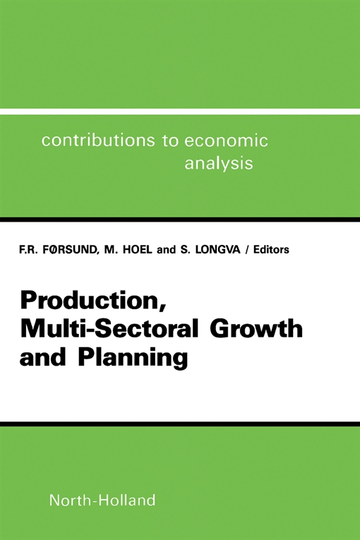 Production, Multi-Sectoral Growth and Planning