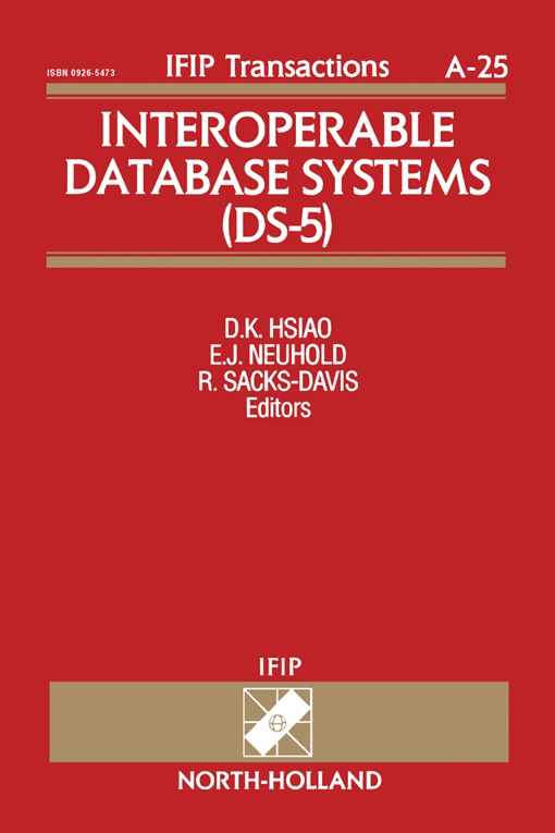 Interoperable Database Systems (DS-5)