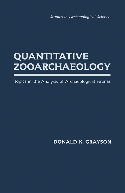 Quantitative Zooarchaeology