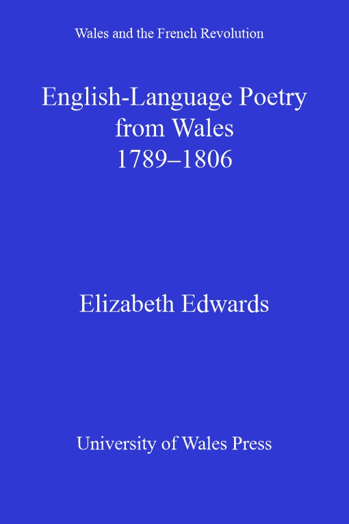 English-language Poetry from Wales 1789-1806