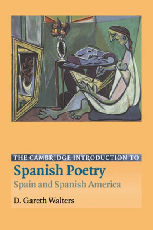 The Cambridge Introduction to Spanish Poetry
