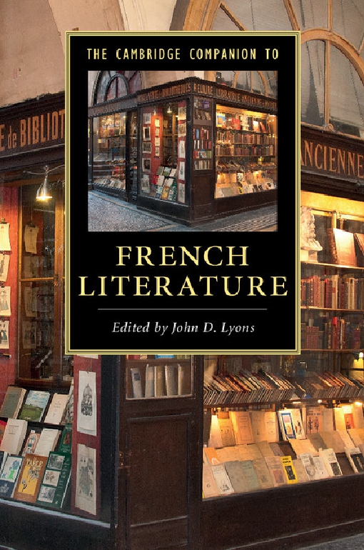The Cambridge Companion to French Literature