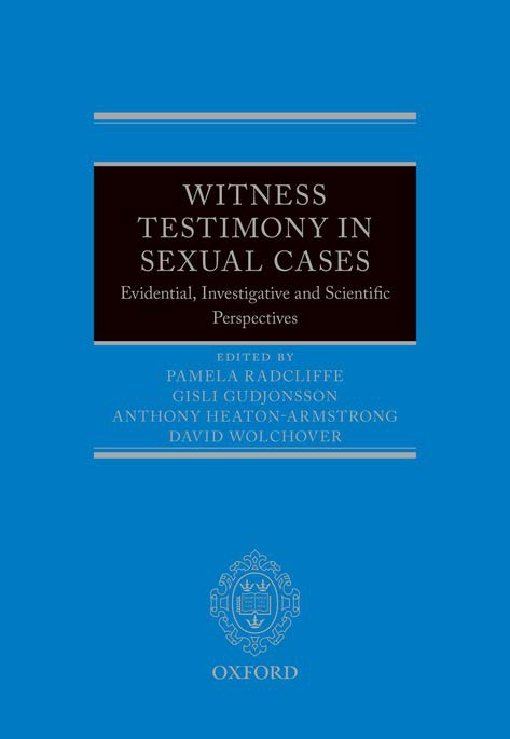 Witness Testimony in Sexual Cases