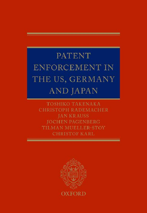 Patent Enforcement in the US, Germany and Japan