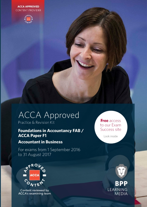 FIA Foundations of Accountant in Business FAB (ACCA F1) - Practice and Revision Kit