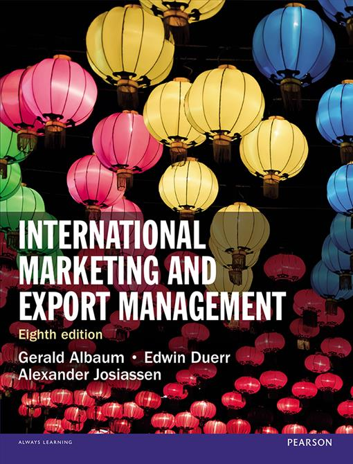 International Marketing and Export Management, (EPUB3)