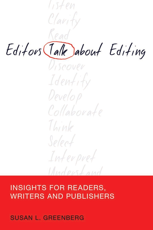 Editors Talk about Editing