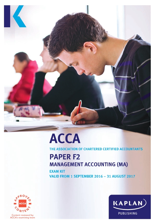 F2 Management Accounting MA - ACCA Exam Kit