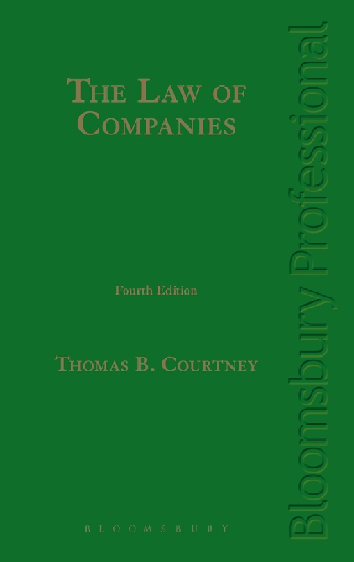 The Law of Companies