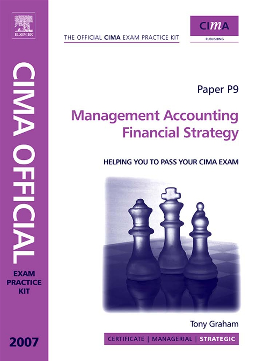 CIMA Exam Practice Kit Management Accounting Financial Strategy