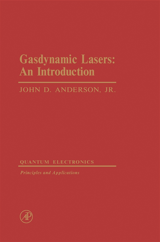 Gasdynamic Lasers: an Introduction