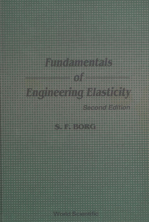 Fundamentals of Engineering Elasticity