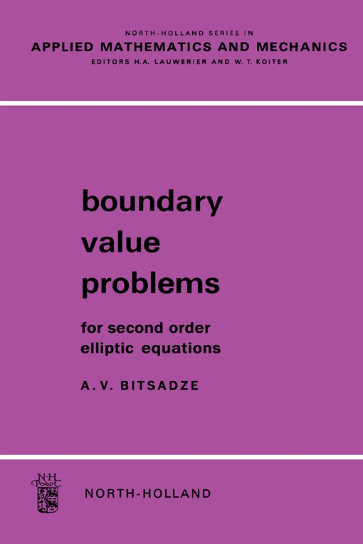 Boundary Value Problems For Second Order Elliptic Equations