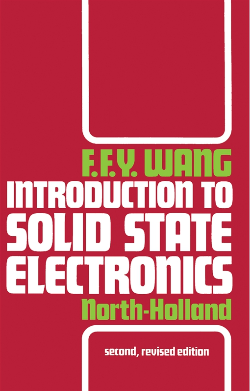 Introduction to Solid State Electronics