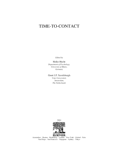 Time-to-Contact