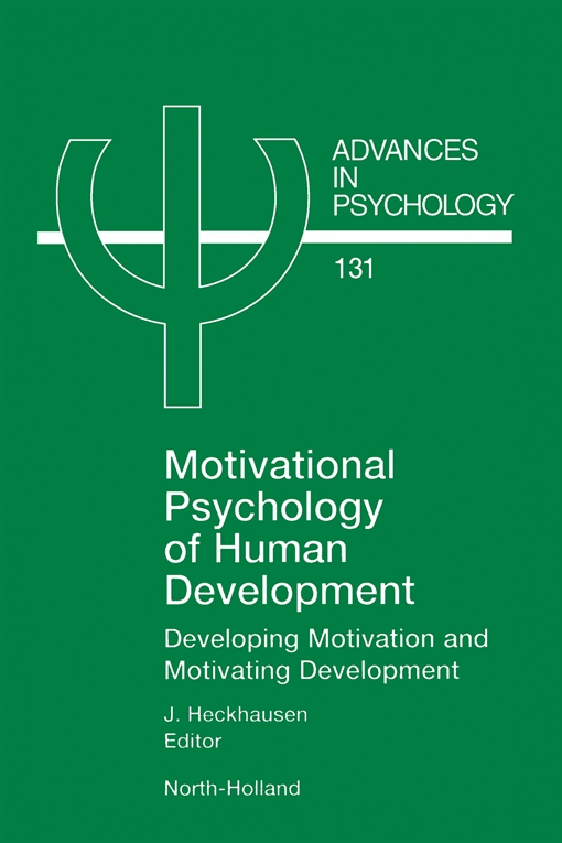 Motivational Psychology of Human Development