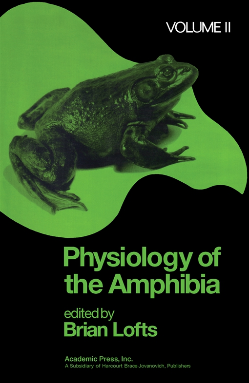 Physiology of the Amphibia Volume 2